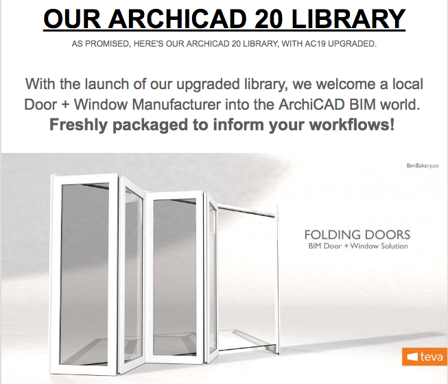 Our ARCHICAD 20 Library update – BimBakery co